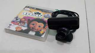 PS3 Eyepet game with Eye Camera