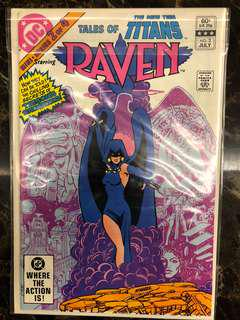 Tales of the new teen titans #2 Raven
