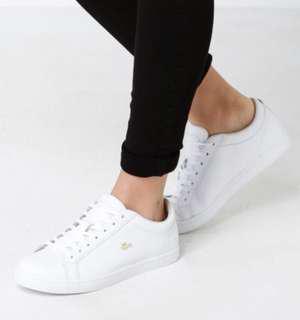 Women's  Straightset T 316 3 Leather Sneaker in White