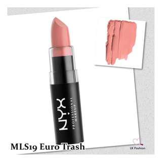 🚚 💕 Instock 💕 NYX Matte Lipstick 💋 MLS19 Euro Trash 💋