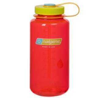 Nalgene 1000ml 1L 32OZ WIDE MOUTH bottle Pomegranate 水樽 水壺 2178-2066