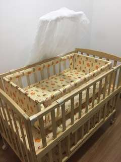 3 in 1 Baby Bed Cot Crib