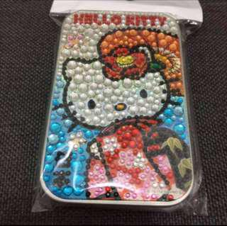 (New)Hello Kitty Rhinestone Box with Candy