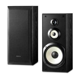Sony 50-50,000Hz 3-Way Bookshelf Speakers SS-B3000 (Pair)