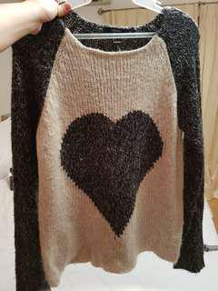 F21 knitted top