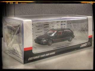 Honda Civic EF9 SiR Black edition not tomica not hot wheels not matchbox