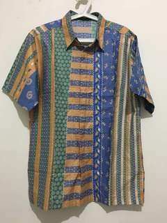 Batik Shirt Man ! NEW !