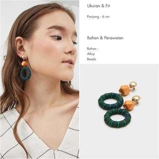 (NEW) LUNA GREEN EARRINGS