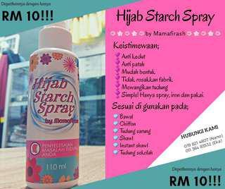 Hijab Starch Spray😍
