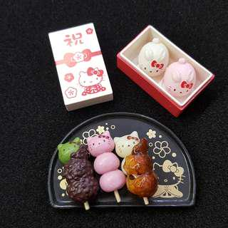 Re-ment Sanrio Hello Kitty 日本和菓子 食玩