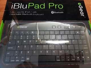 iBluPad Pro Bluetooth Keyboard Folio Case