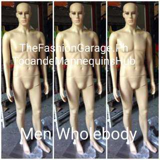Men's Wholebody Skintone Mannequin