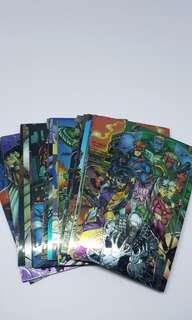 27 pcs Marvel Wildcats 94s