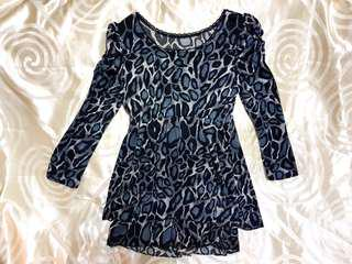 Leopard Pattern Blouse