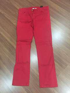 Hnm red pants
