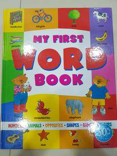 My First Word Book (Hardcover)