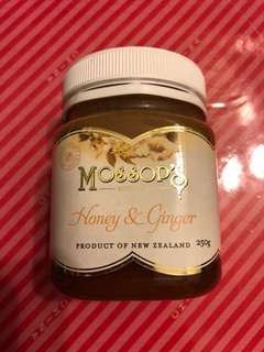 Mossop's Honey and Ginger Mini Size 250g