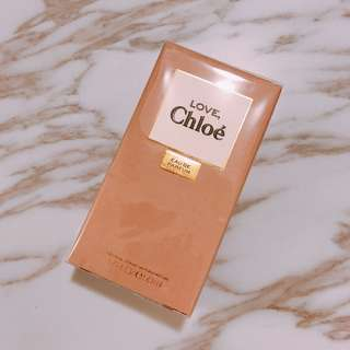 $685 絕版 Chloe Love Eau De Parfum edp white musk 女士麝香香水香精 (last到7-8小時) 50ml