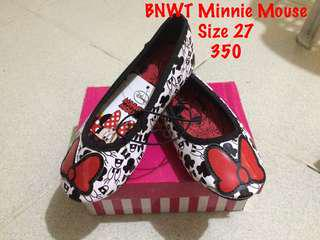 BN Mickey mouse doll shoes size 27/17 cm outsole
