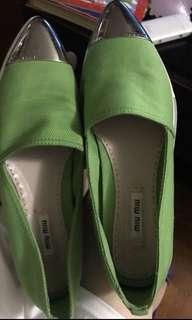 Real miu miu 布鞋 37
