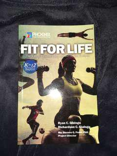 """Fit for Life"" physical edication and health textbook"