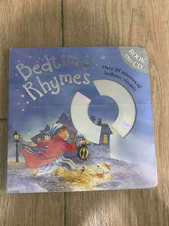 Bedtime Rhymes (全新,附CD)