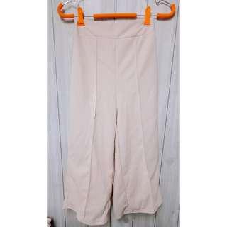 🚚 杏色寬褲