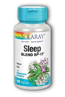 Solaray Sleep Blend SP-17 (100 VegCaps)