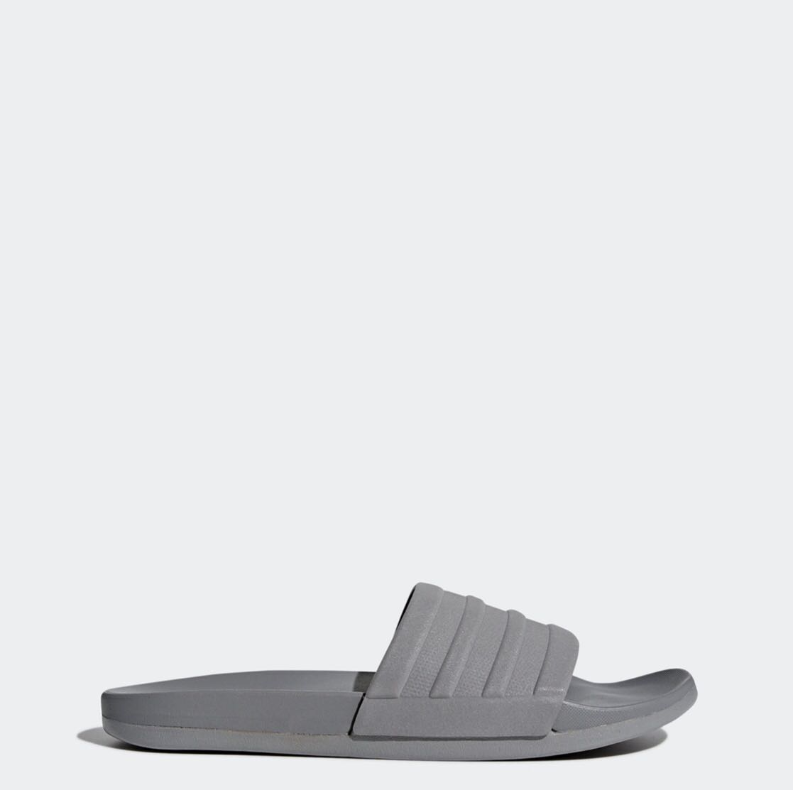 444612051 Adidas Adilette Cloudfoam Plus Mono Slides