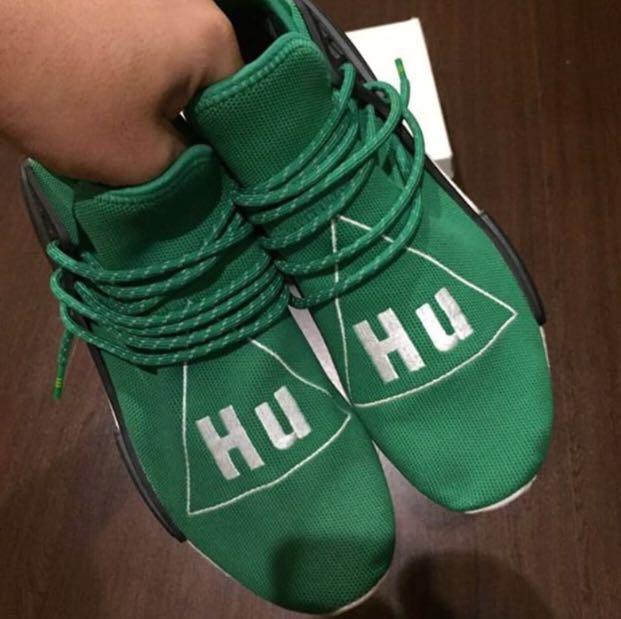 15c464bd17a16 Adidas Human Race Pharrell Williams Green OG