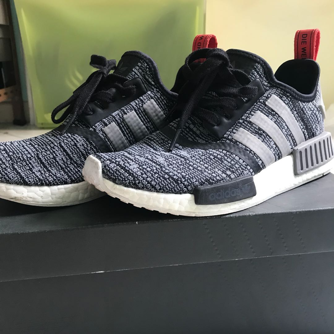 5db3545ed Adidas Original NMD R1 in grey red US6