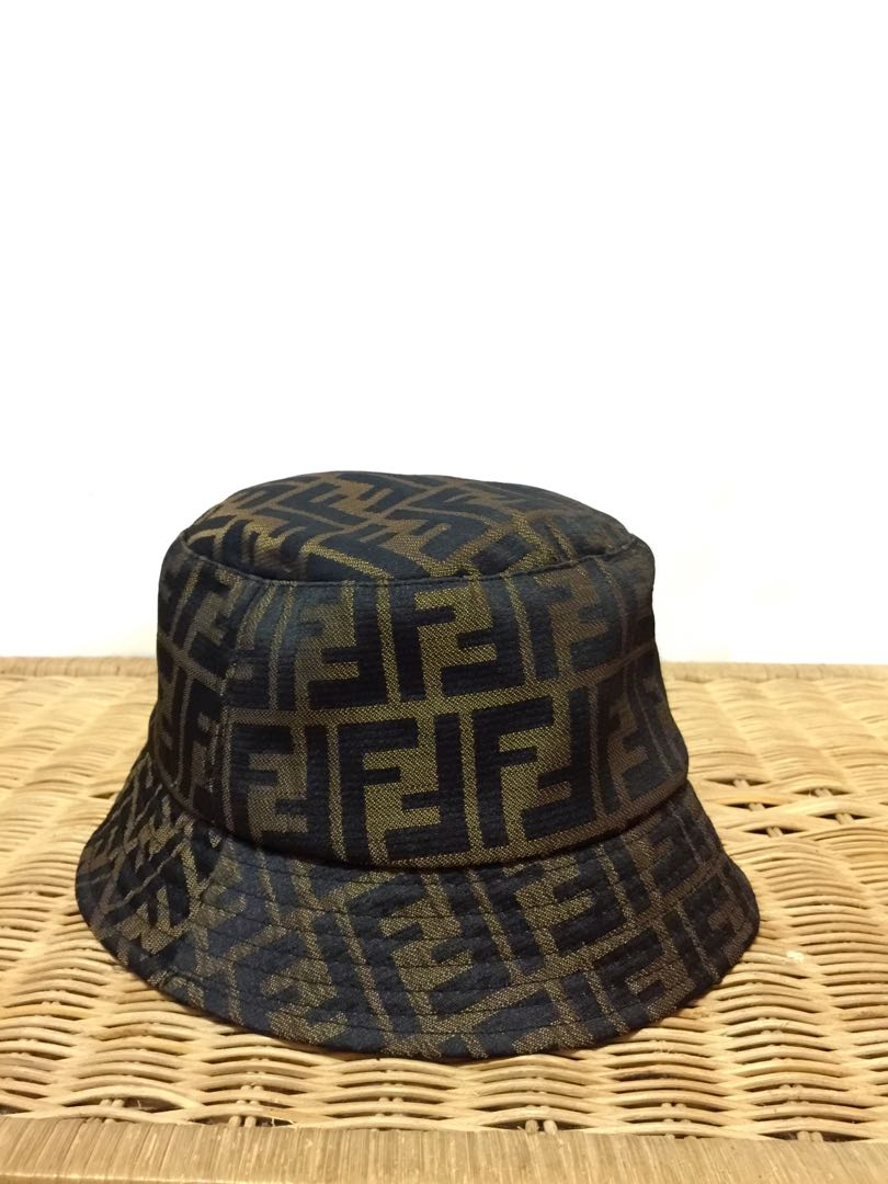 Authentic Fendi Bucket Hat 73df8ac1684