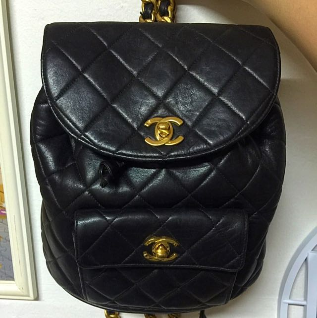 347db75450e653 Authentic Vintage Chanel Backpack (PRICE REDUCED), Women's Fashion ...