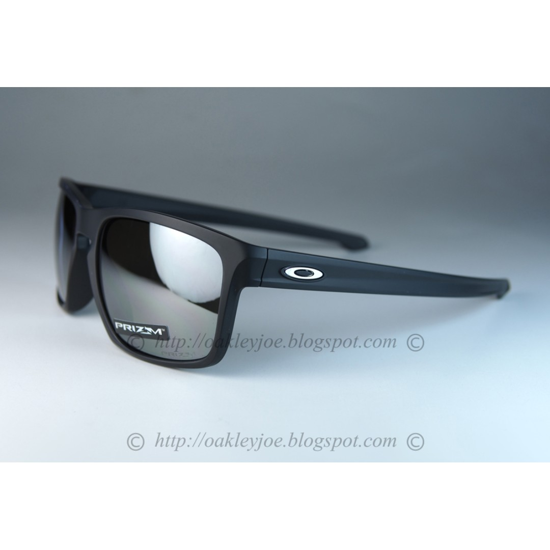 87f51c0e3eb BNIB Oakley Sliver Asian Fit matte black + prizm black iridium ...