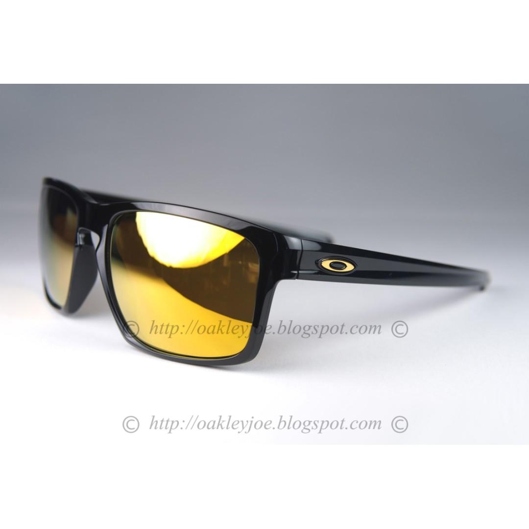 bdf71bef62e BNIB Oakley Sliver Asian Fit polished black + 24k iridium oo9265-05 ...