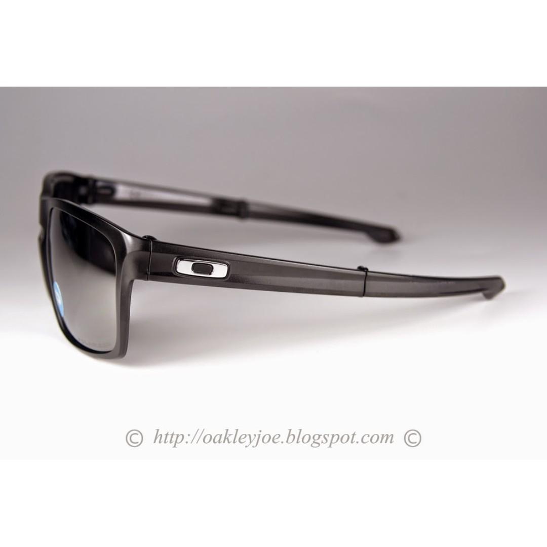 f0b2240bfd BNIB Oakley Sliver F matte black + black iridium polarized oo9246-04 sunglass  shades