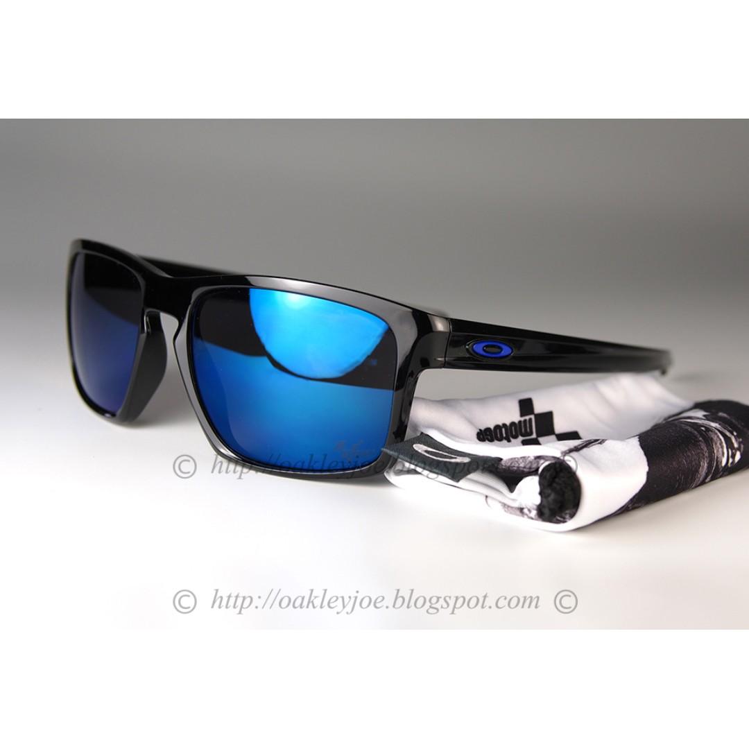 dc796508cb BNIB Oakley Sliver MotoGP Asian Fit polished black + ice oo9262-28 ...
