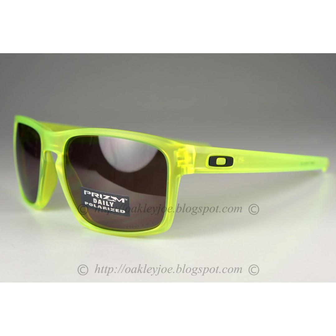 689cadd1125 BNIB Oakley Sliver Uranium Collection matte uranium + prizm daily polarized  oo9262-14 sunglass shades