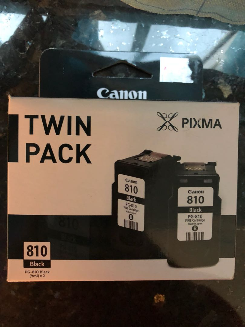Canon 810 Black Ink Cartridge Electronics Others On Carousell Cadtrige