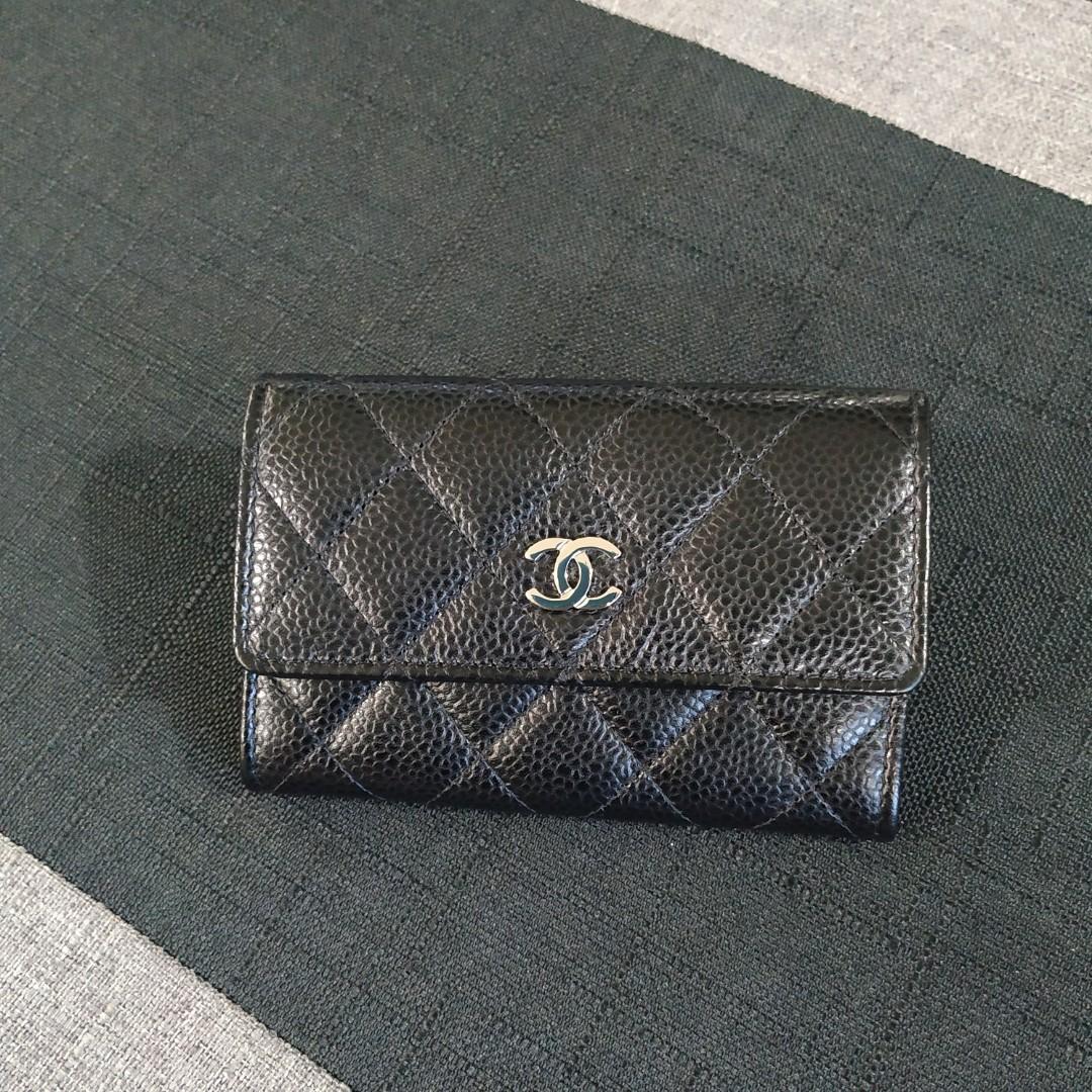 2824e9a32f6d Chanel Cardholder in Caviar and SHW