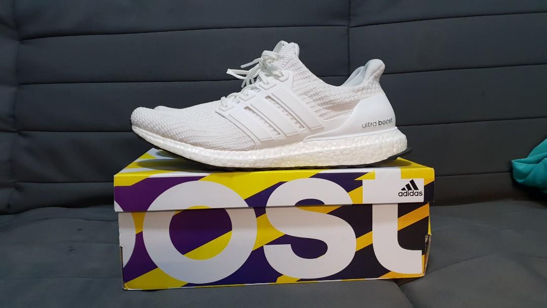 8a506bafc0a **FIRE DEAL** US11 Adidas Ultraboost 4.0 Triple White