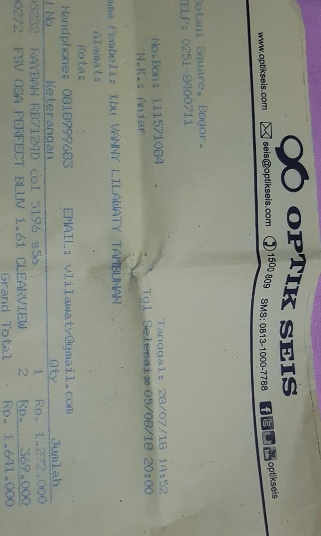 FRAME Kacamata original Ray Ban dad11f3d99