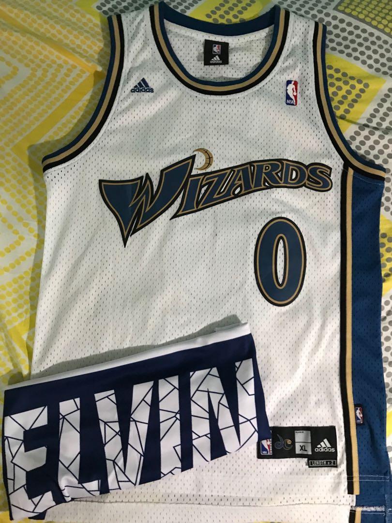 superior quality 4ed6c 4496c Gilbert Arenas Wizards Home Swingman Jersey