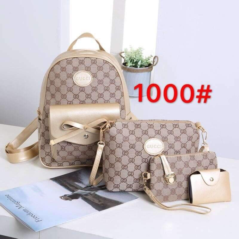 769595f63e0 Gucvi 4in1 bag set, Women s Fashion, Bags   Wallets on Carousell