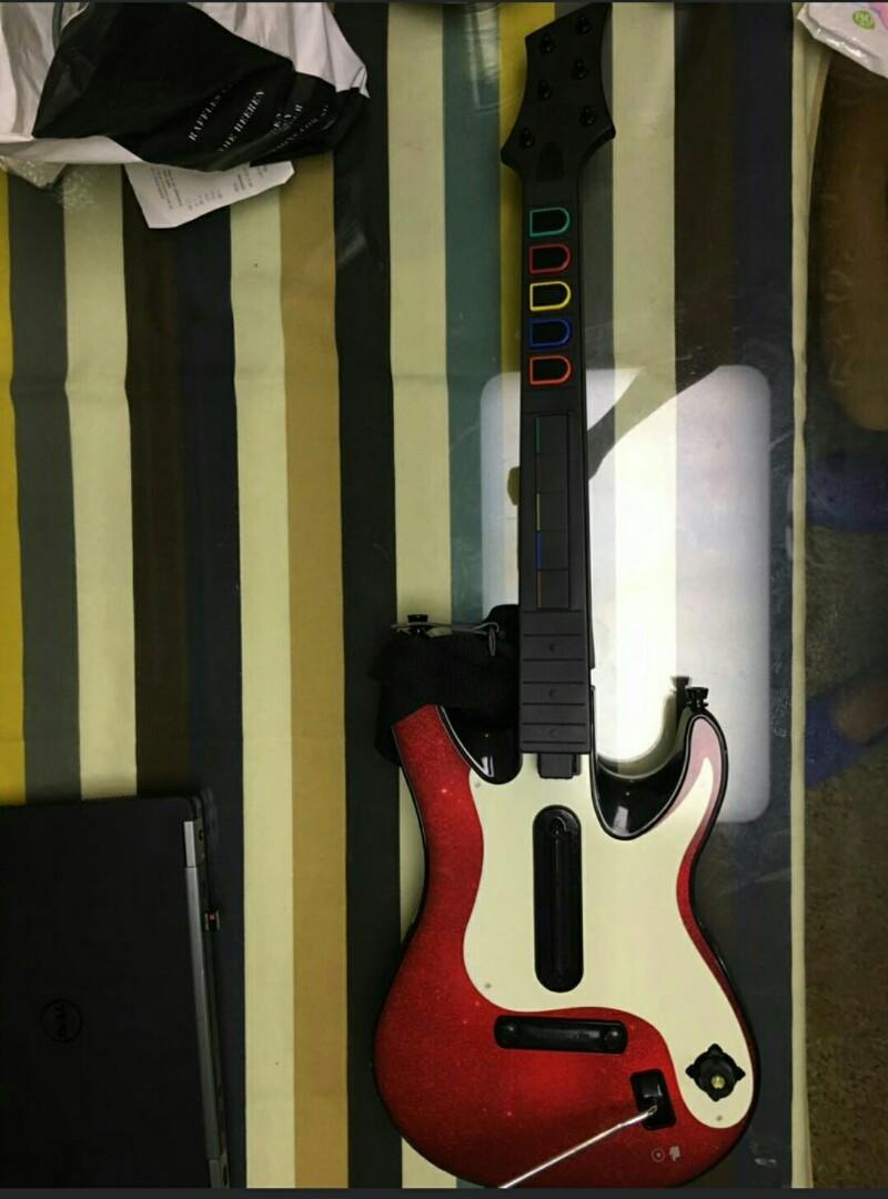 Guitar Hero 5 Xbox 360 Wireless Guitar Controller