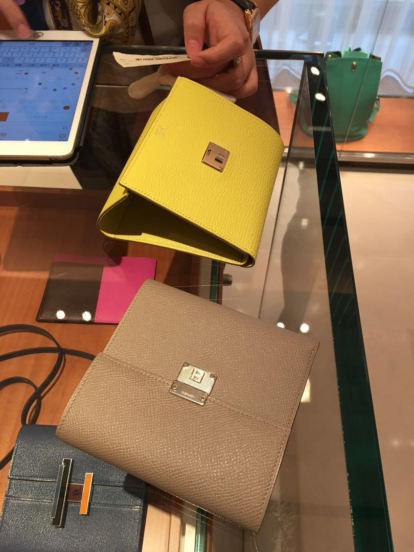 Hermes Wallet Clic 12 2018 Women S