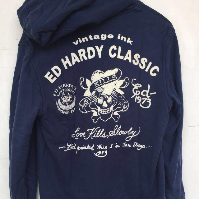 Hoodie Zip Ed Hardy