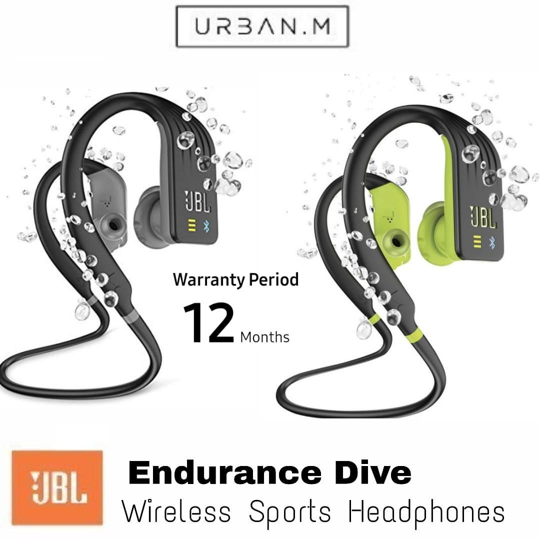 36a249bd58f JBL Endurance DIVE Waterproof Wireless In-Ear Sport Headphones with ...
