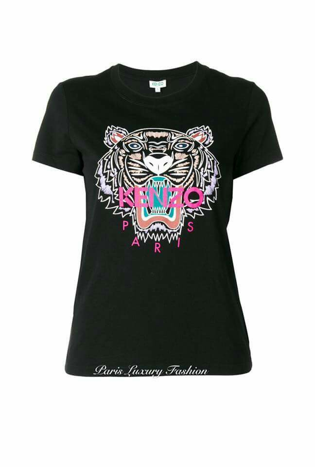 2cc2dd9a4fb3 KENZO Tiger T-shirts (Women), Women's Fashion, Clothes, Tops on Carousell