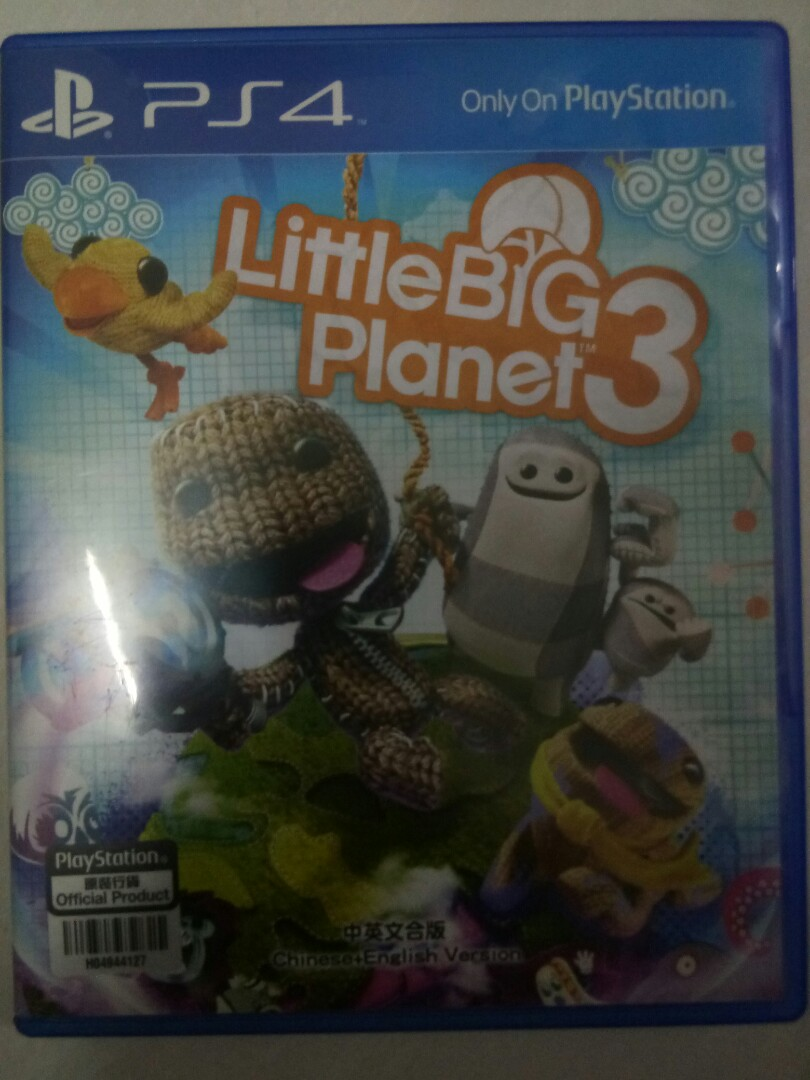 Little Big Planet 3 Ps4 Video Gaming Games On Carousell Photo